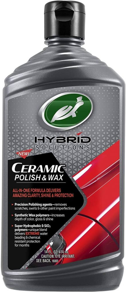 Turtle Wax 53412 Hybrid Solutions Ceramic Polish and Wax